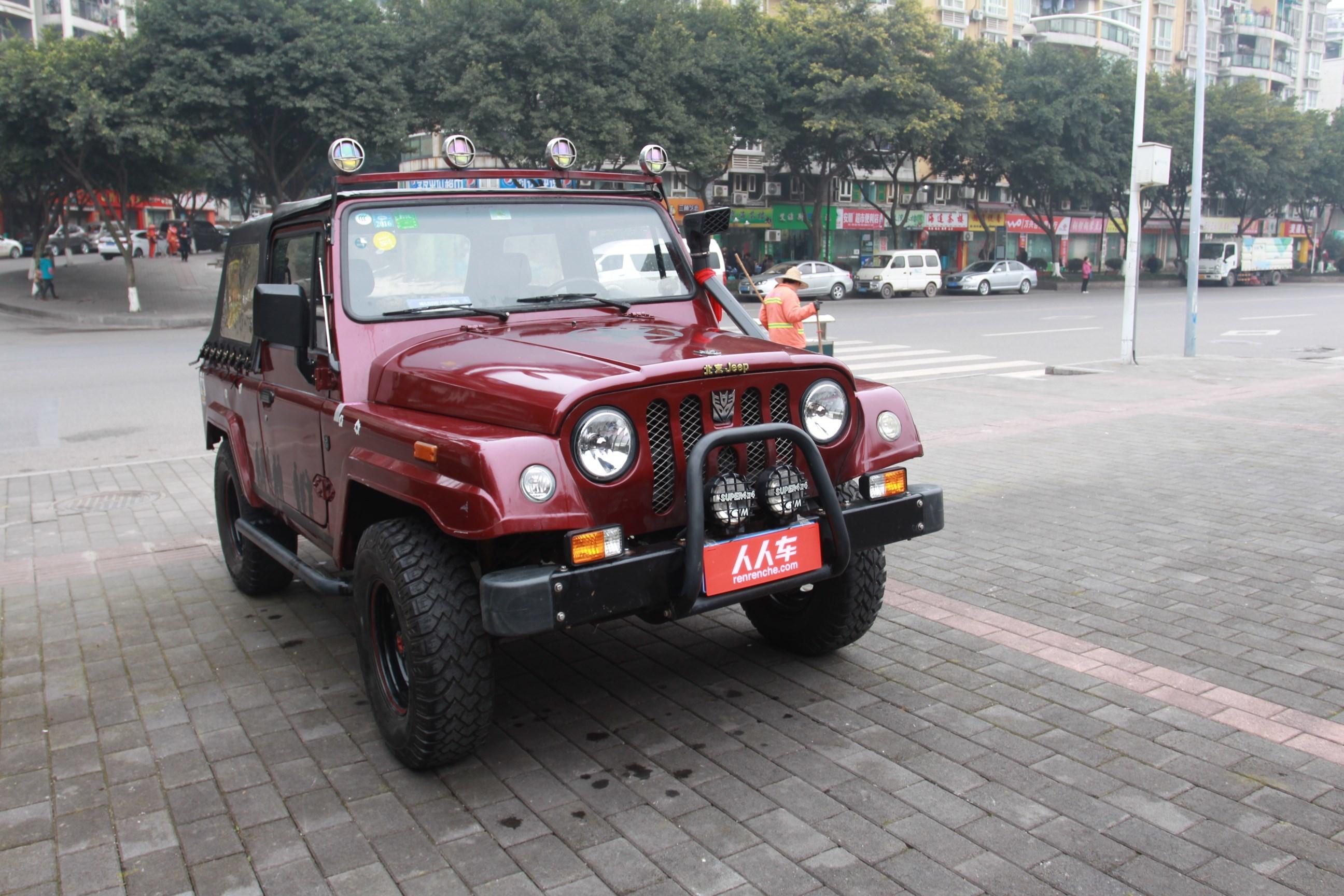 北京汽车制造厂 战旗2013款 2.0l 角斗士 高清图片