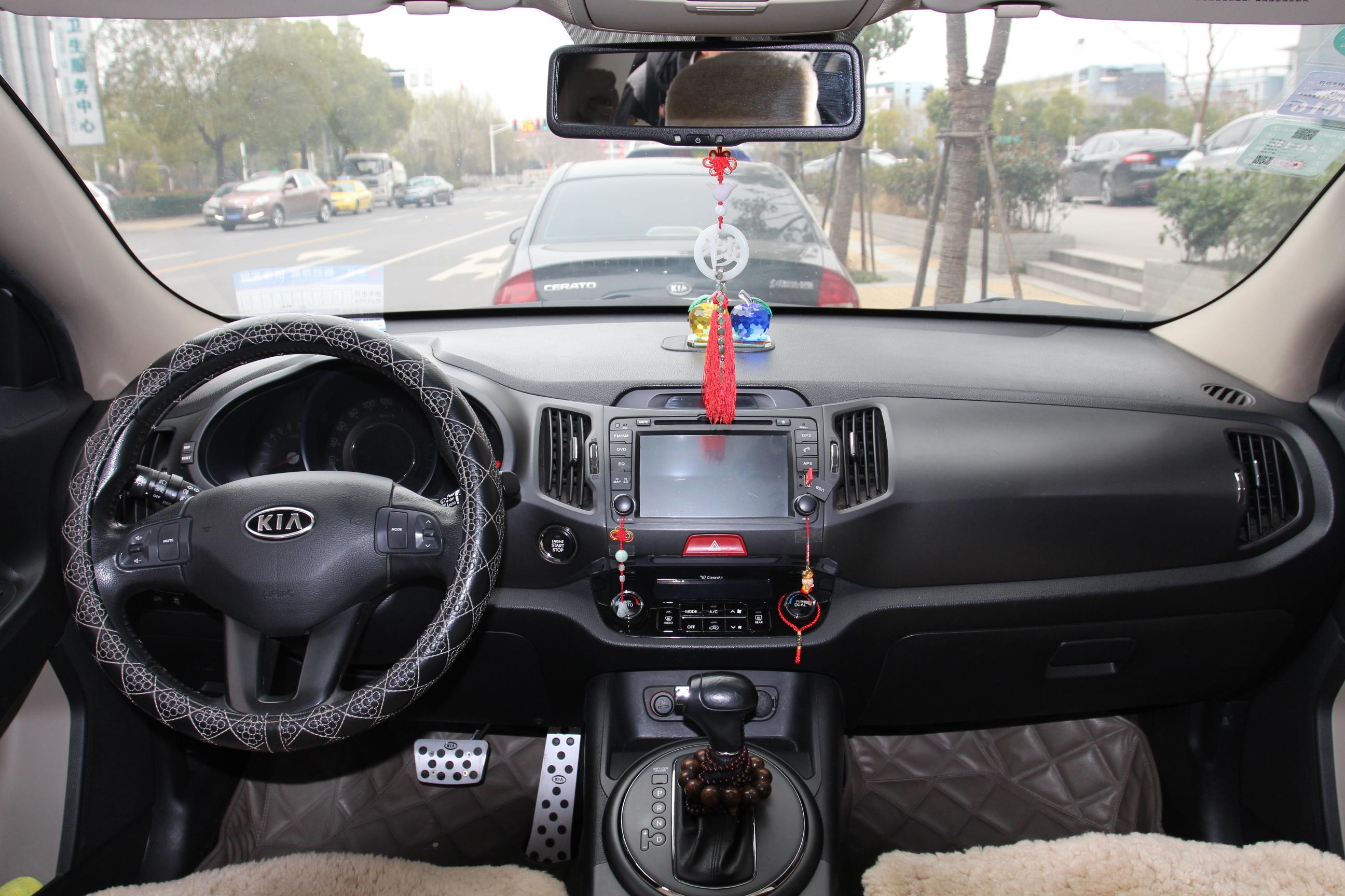起亚智跑汽车仪表盘指示灯图解