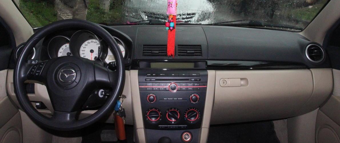 汽车仪表盘指示灯图解马自达