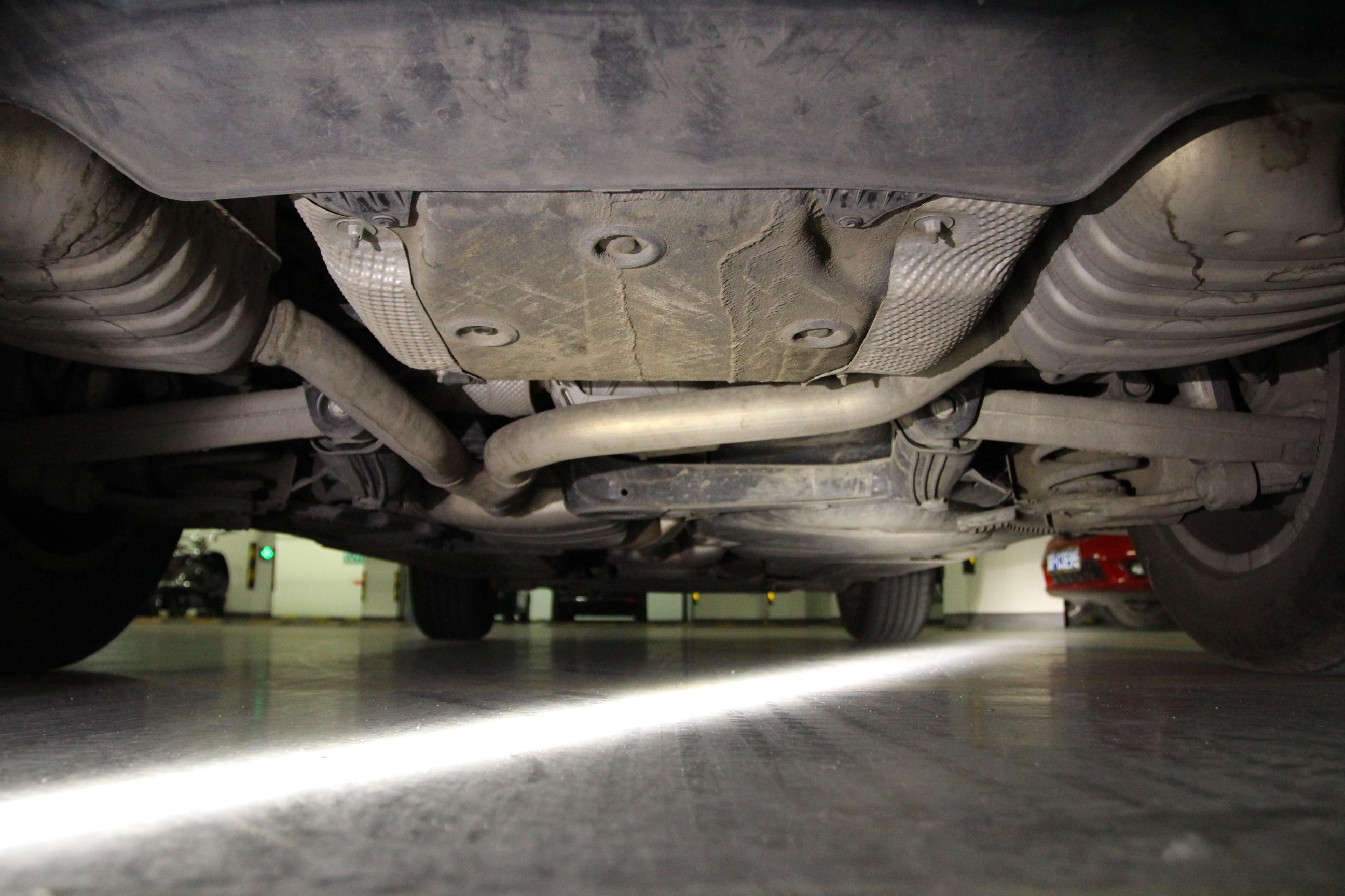 奥迪汽车底盘结构图解