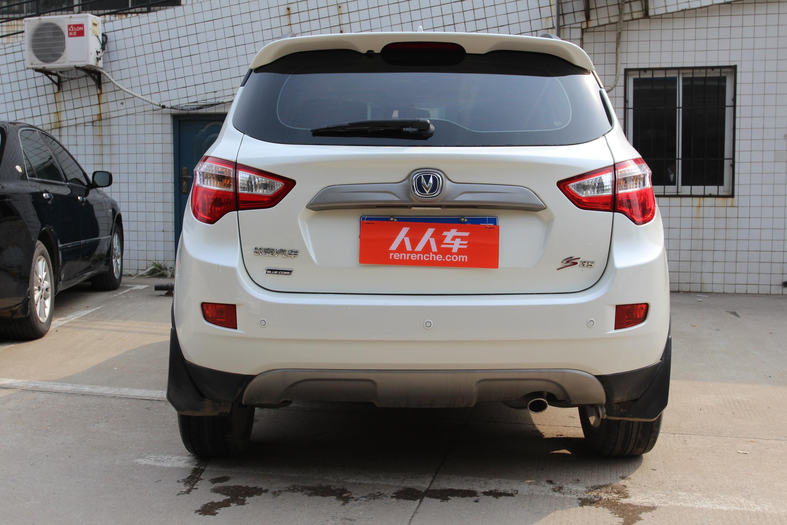 长安汽车-cs35 2012款 1.6l 手动豪华型 国v
