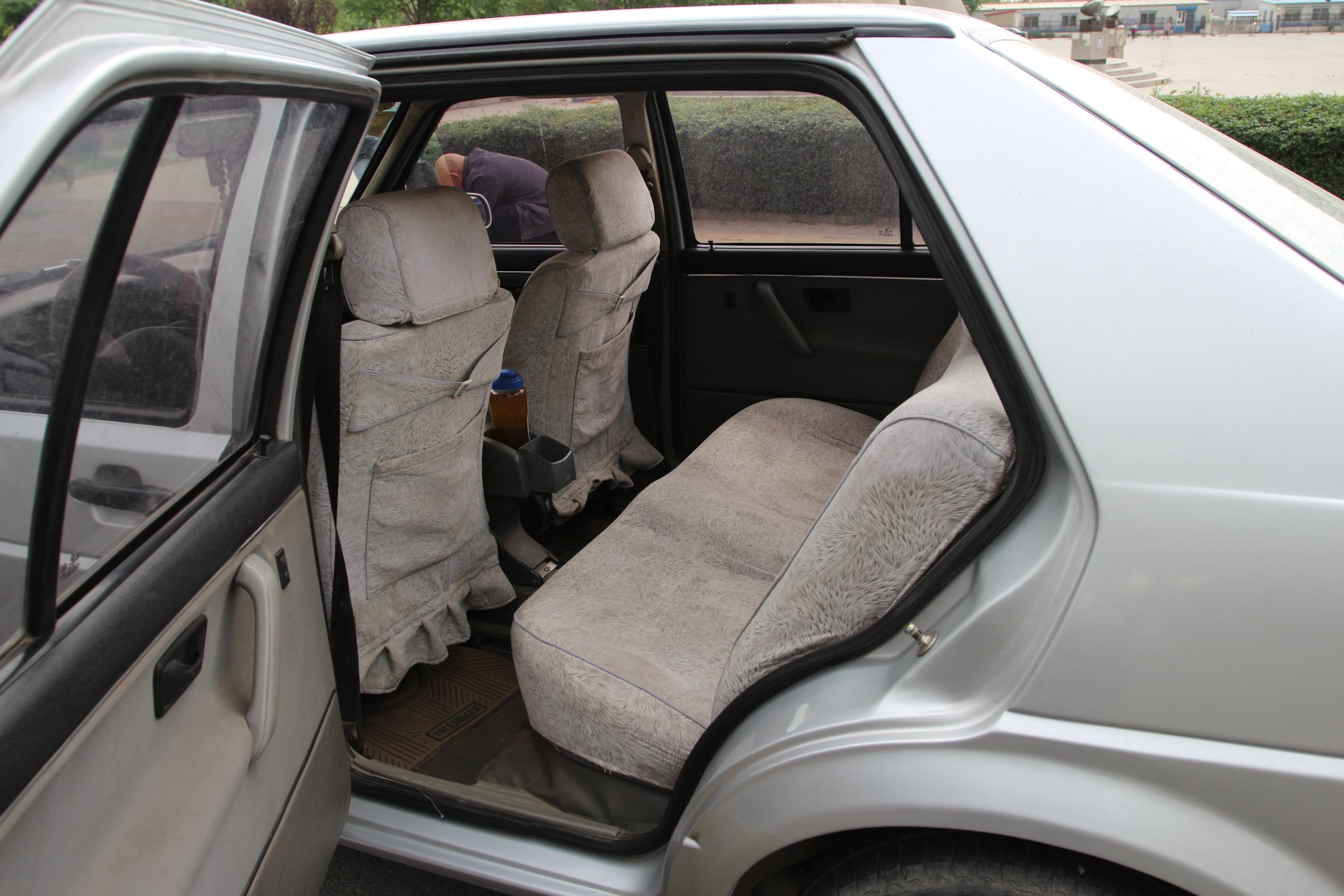 老捷达座椅调节图解