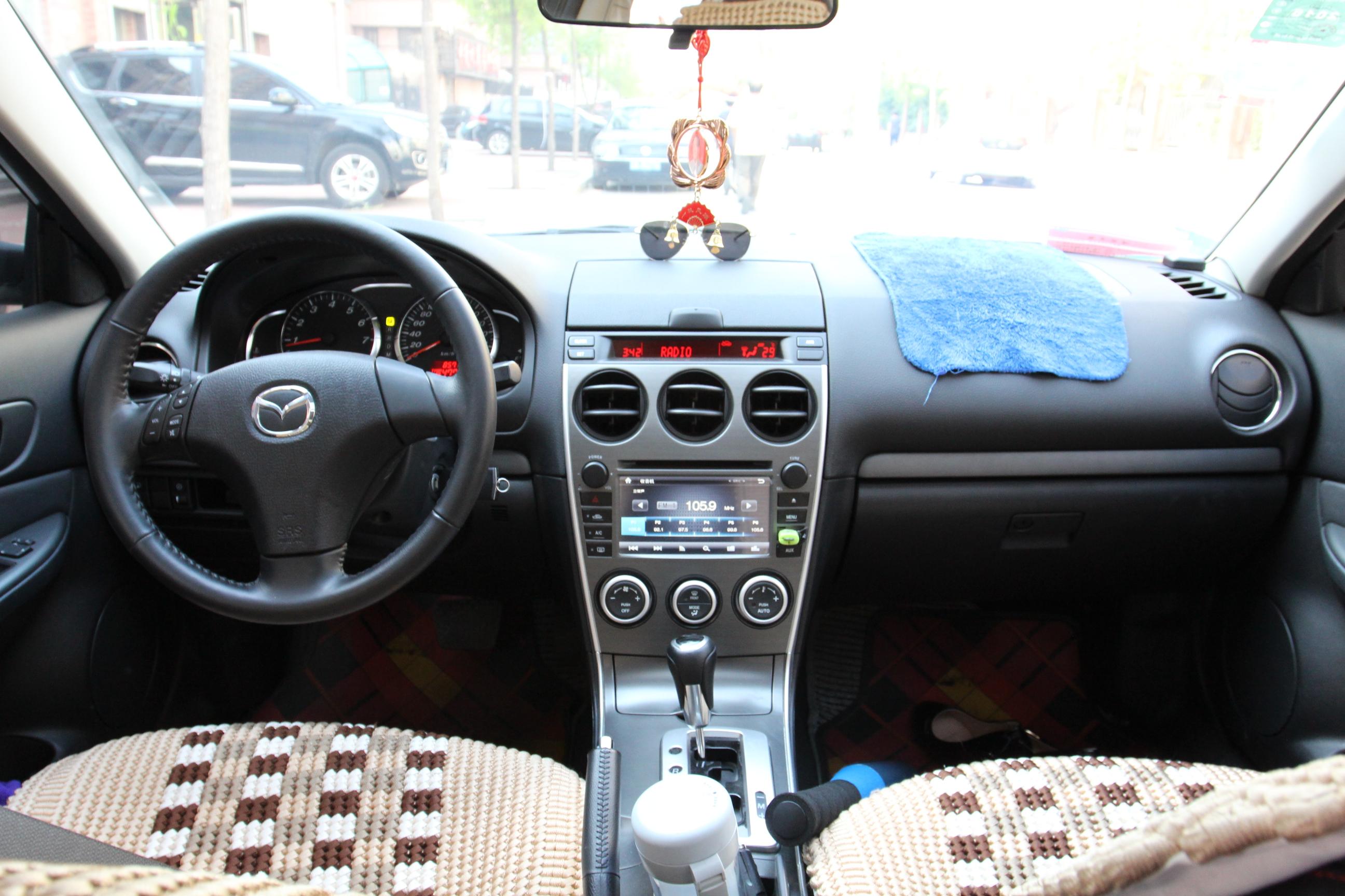 马自达6汽车仪表盘指示灯图解