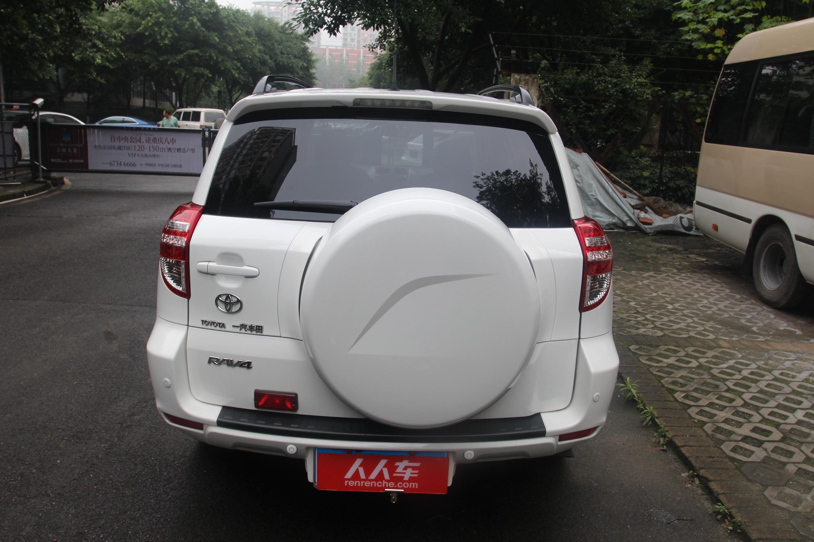 丰田-rav4 2012款 炫装版 2.4l 自动四驱豪华