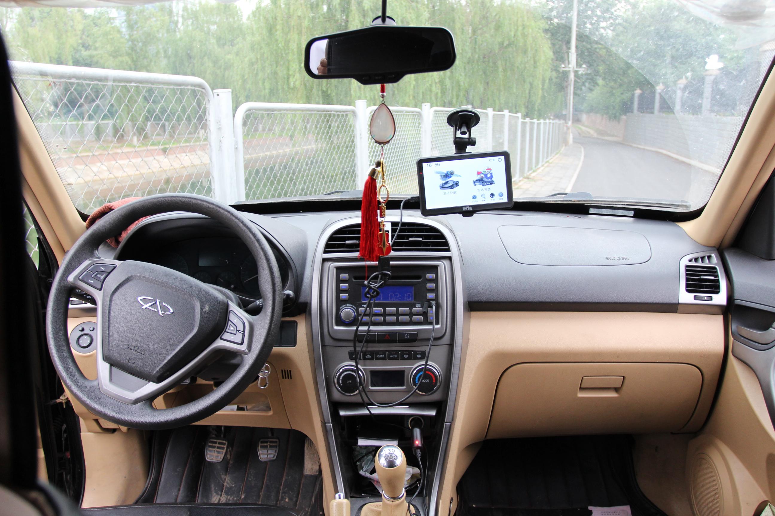 奇瑞汽车 瑞虎2012款 精英版 1.6l 手动舒适型dvvt高清图片
