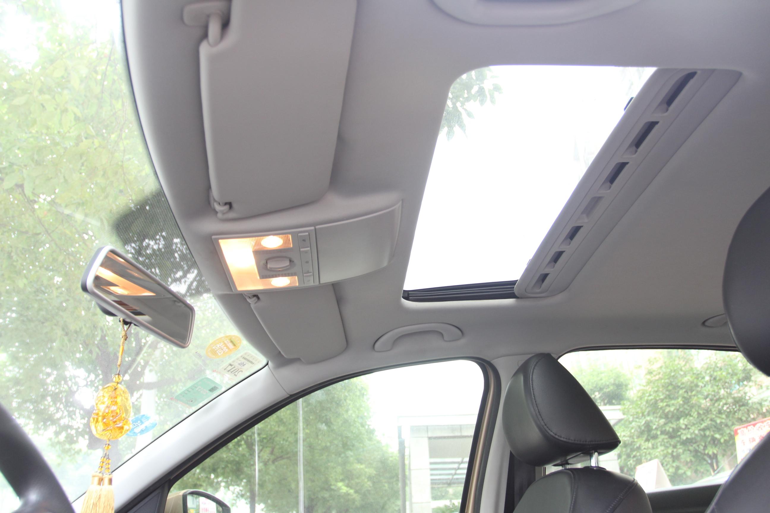 大众朗逸汽车灯光开关拨杆图解